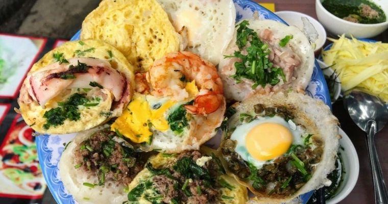 Quán bánh căn Nha Trang ngon nhất