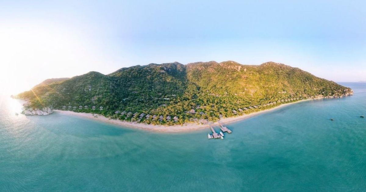 Vịnh biển đẹp ở Khánh Hoà