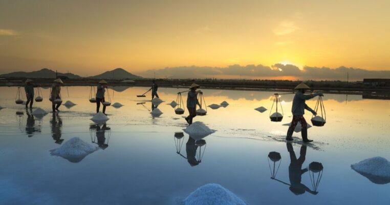 Ruộng muối Hòn Khói